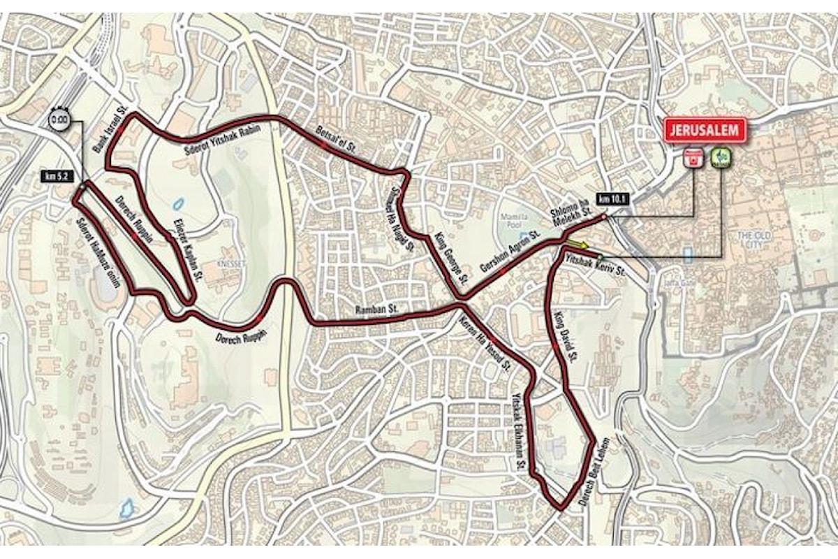 Appello internazionale contro la partenza da Israele del Giro d'Italia 2018