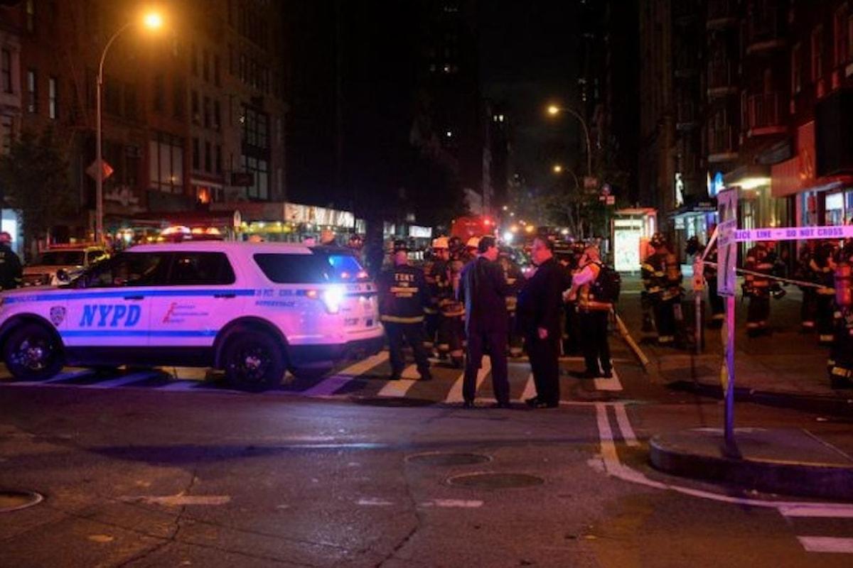 29 feriti in un'esplosione a New York. Un atto deliberato, secondo il sindaco De Blasio