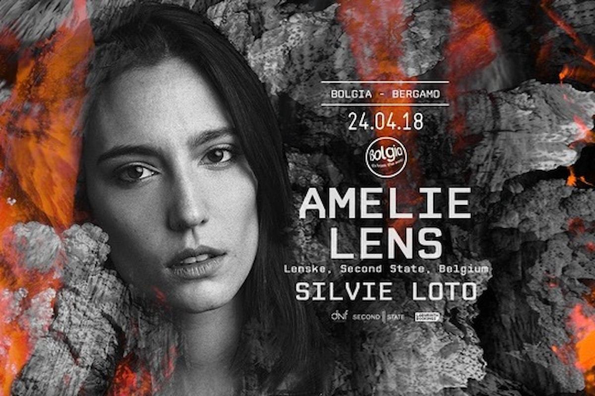 24 aprile: Amelie Lens, Silvie Loto al Bolgia Bergamo