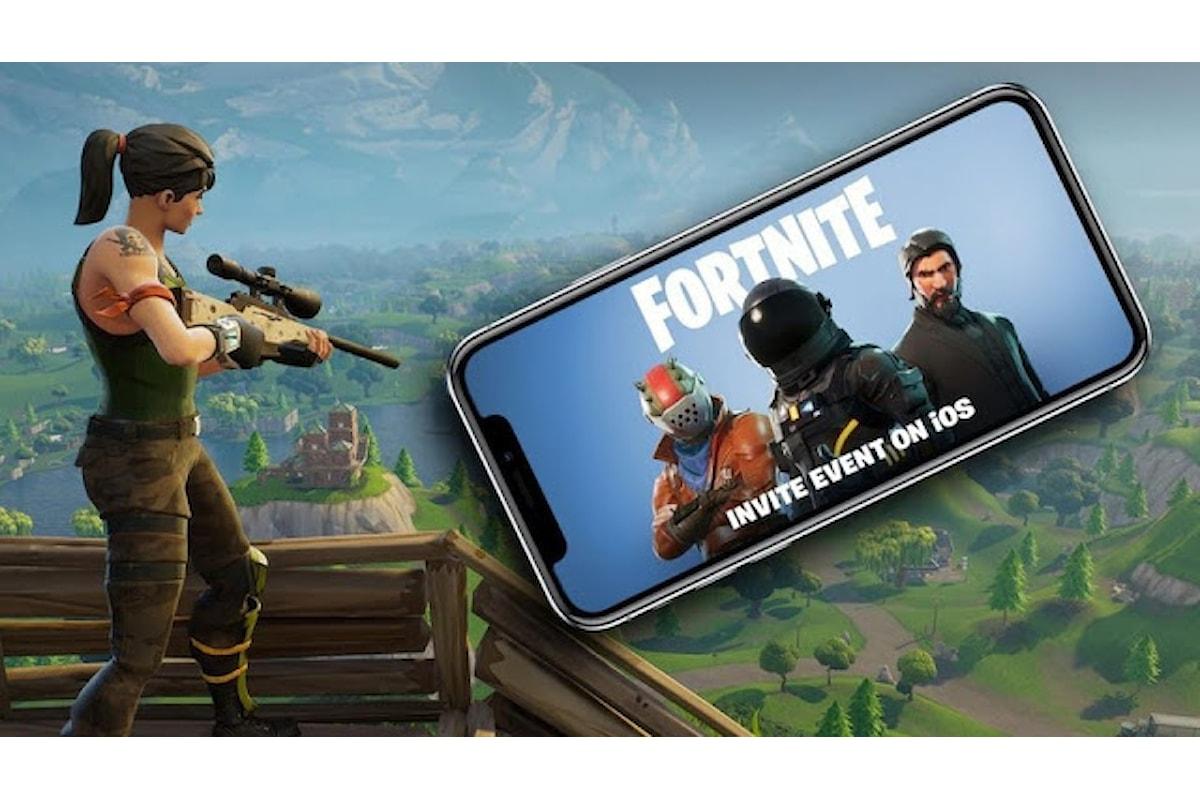 Epic Games annuncia il lancio di Fortnite Battle Royale sui dispositivi mobili Android ed iOS