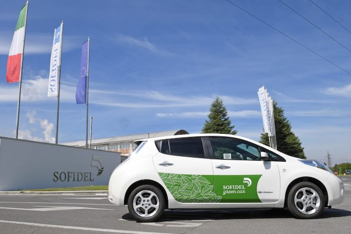 Nissan e Sofidel insieme per un progetto di mobilità sostenibile