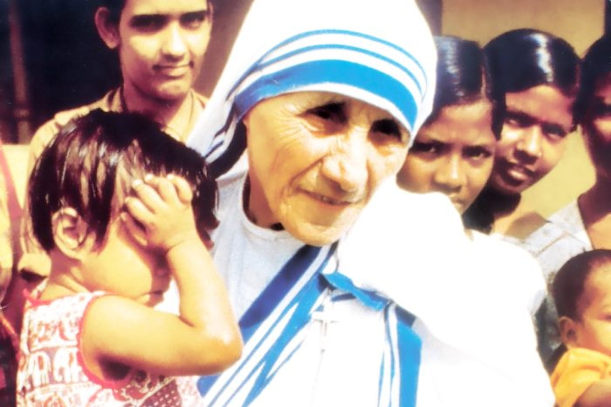 In Piazza San Pietro la cerimonia di canonizzazione di Madre Teresa di Calcutta