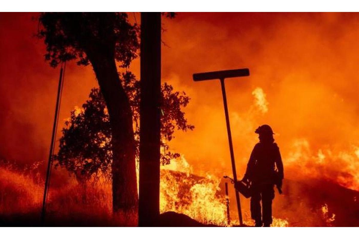 Gli incendi devastano anche gli Usa, sei le vittime per il fuoco che da una settimana devasta il nord della California