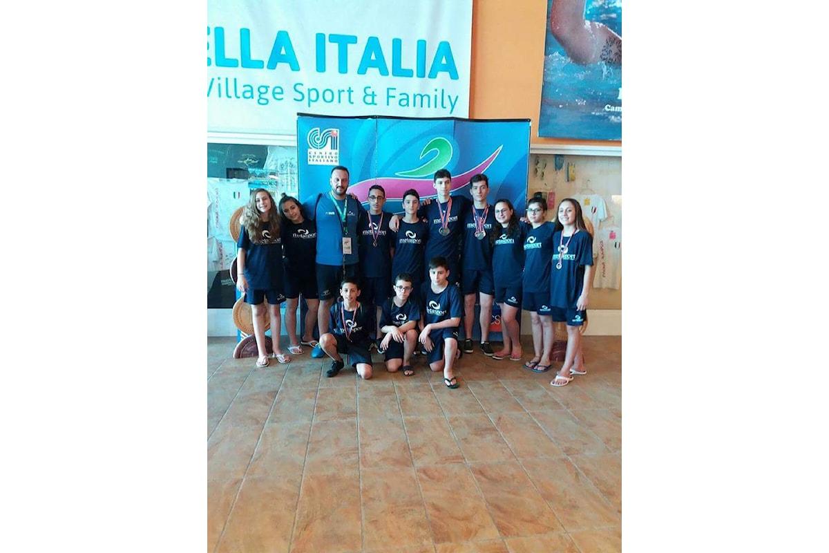 Nuoto: finali Nazionali Lignano Sabbiadoro, ottimi risultati per la Metasport di San Rufo (Sa)