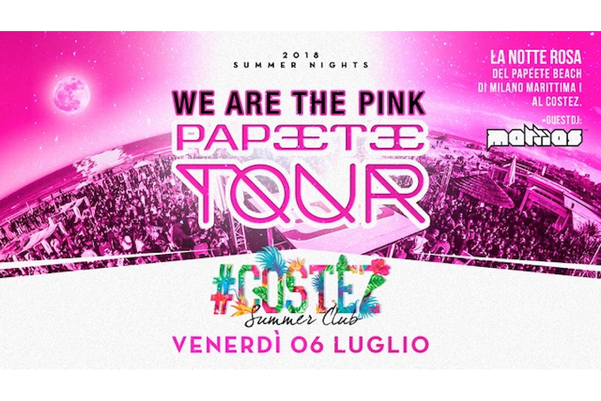 #Costez Telgate (BG), 6/7 Papeete on Tour Pink Night, 7/7 99,9%
