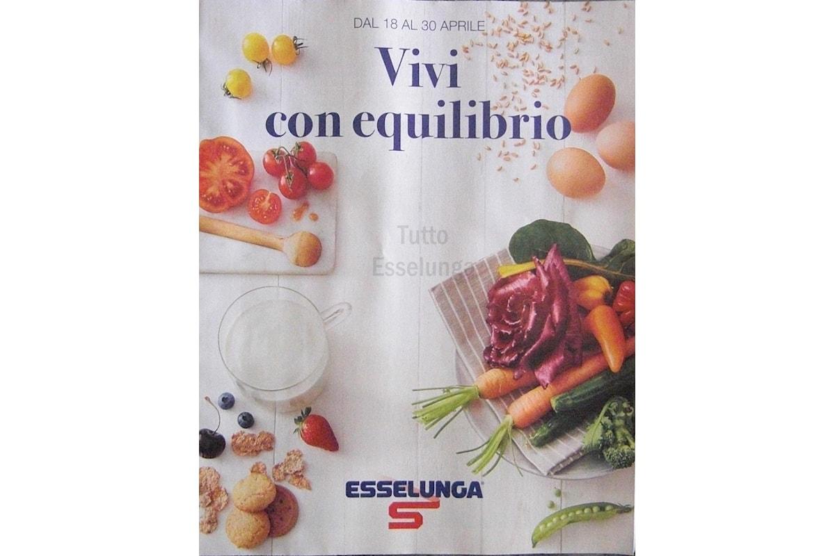 Sfoglia il volantino Esselunga Vivi con equilibrio, con soli prodotti bio o vegetali!