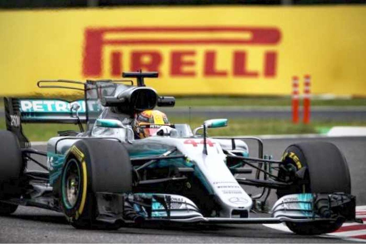 Formula 1, in Giappone è ancora Hamilton a partire in pole. Vettel secondo