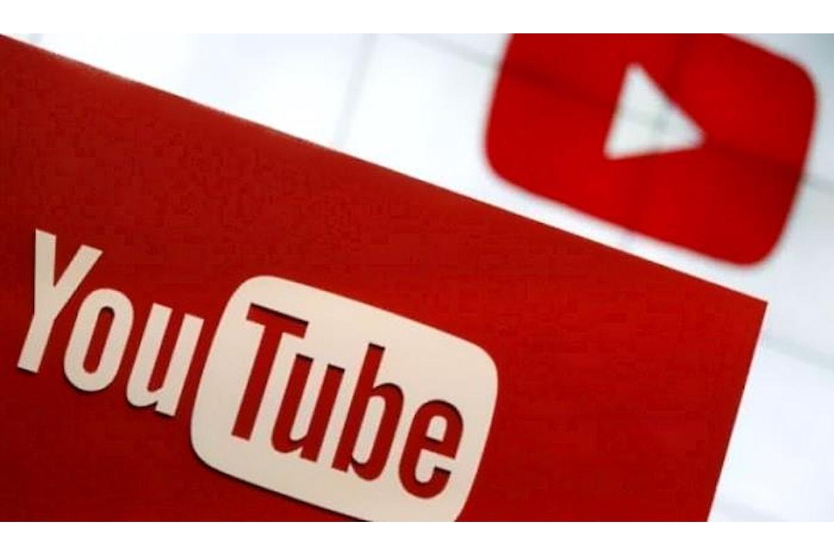 Le novità di YouTube, merchandising e abbonamenti, sono accessibili solo per gli youtuber più influenti