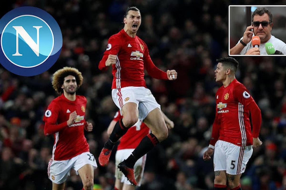 Calcio. Raiola: Ibra ama Napoli, con Zlatan tutto è possibile