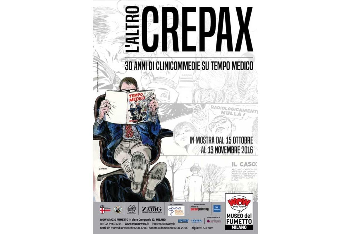 Cose da fare a Milano: un inedito Crepax in mostra