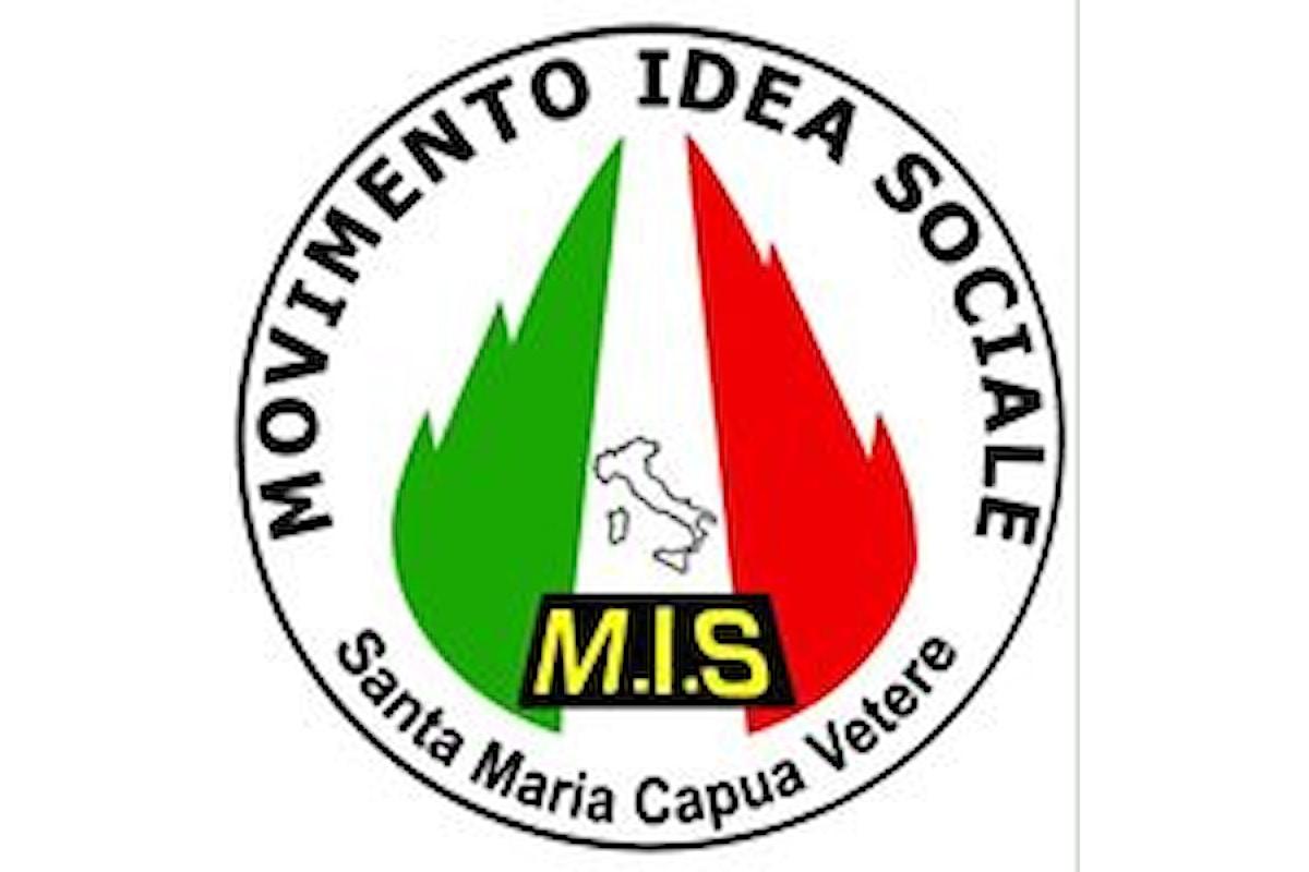 Luigi Falché (segretario Mis di Caserta): A Santa Maria Capua Vetere sarà inaugurata la nuova sede cittadina del Movimento Idea Sociale