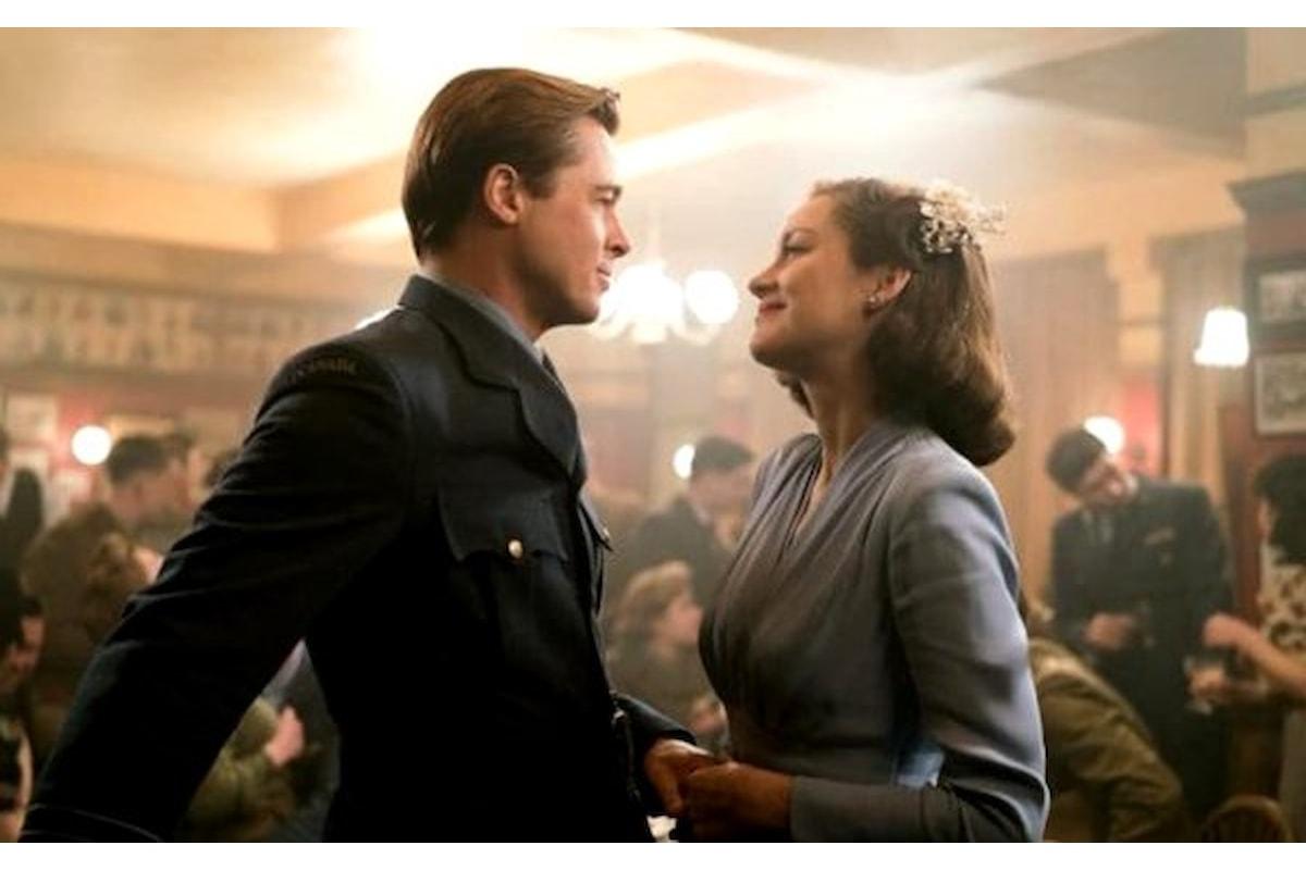 Film: Allied. Brad Pitt e Marion Cotillard fra amore e guerra