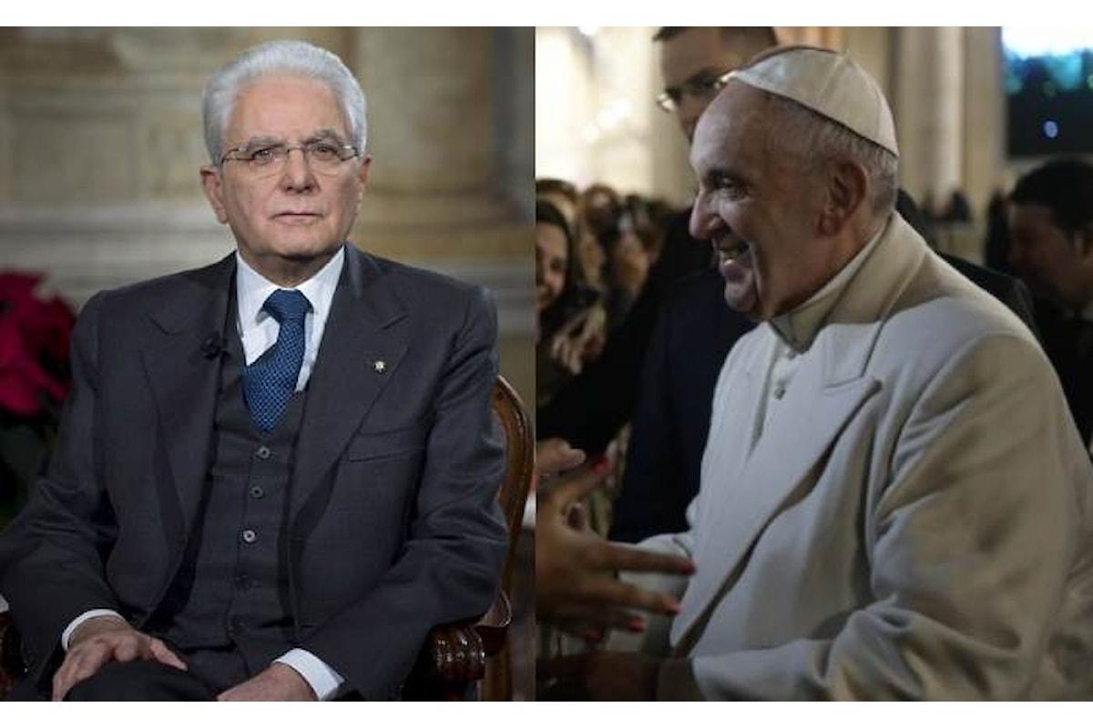 Il Papa e Mattarella, nei loro discorsi di fine anno, hanno parlato dei giovani, in questi termini...