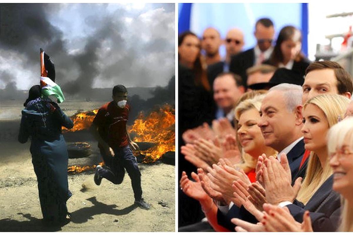 Alcune delle reazioni internazionali seguite all'ennesimo massacro perpetrato dagli israeliani a Gaza