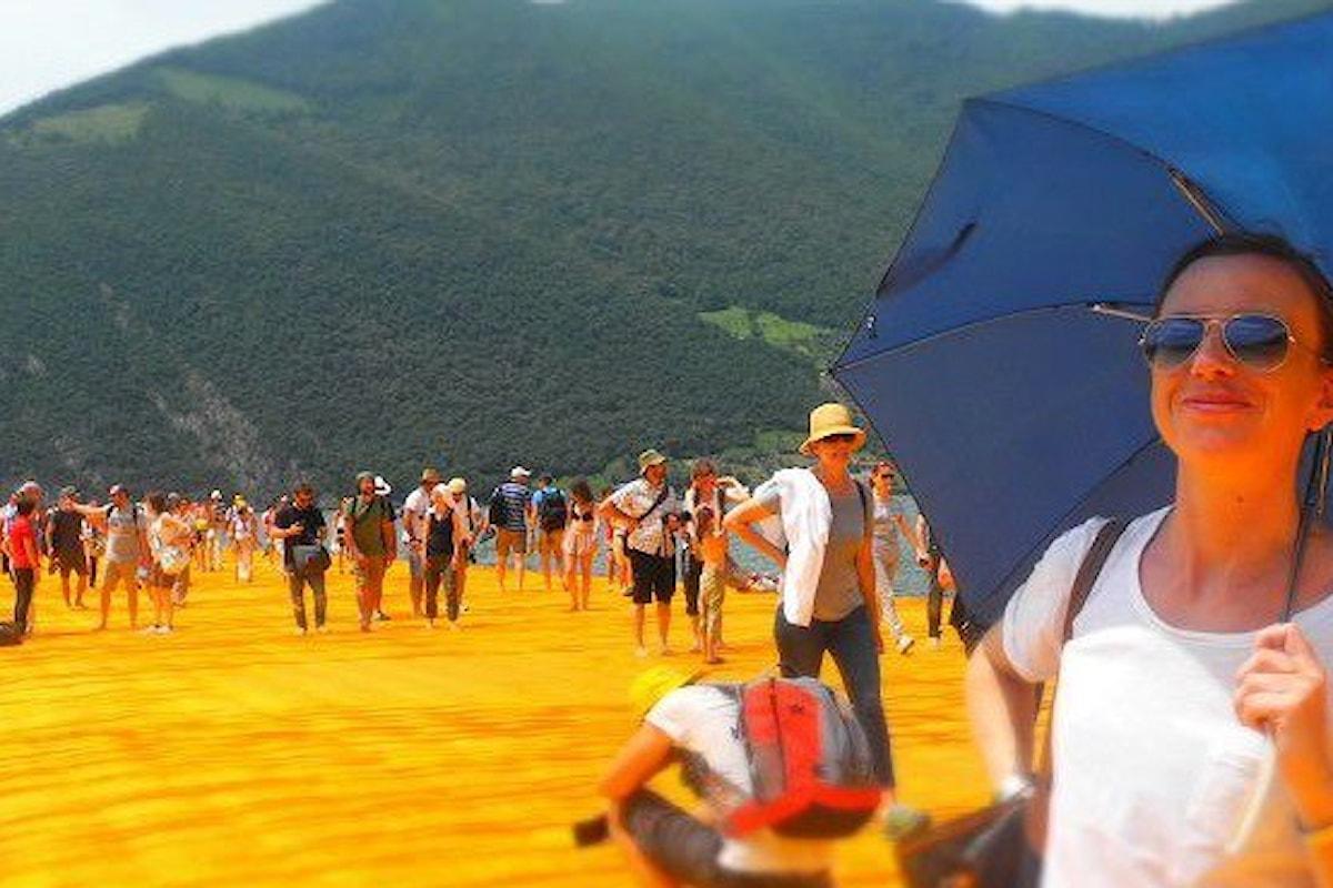 Metti una giornata sul Lago d'Iseo per The Floating Piers