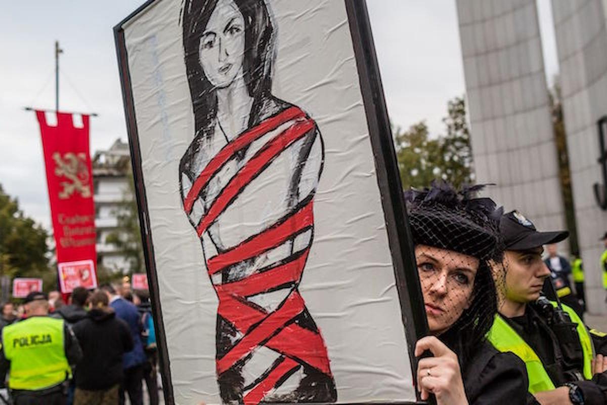 Il «lunedi' nero» delle donne polacche manda in tilt il governo