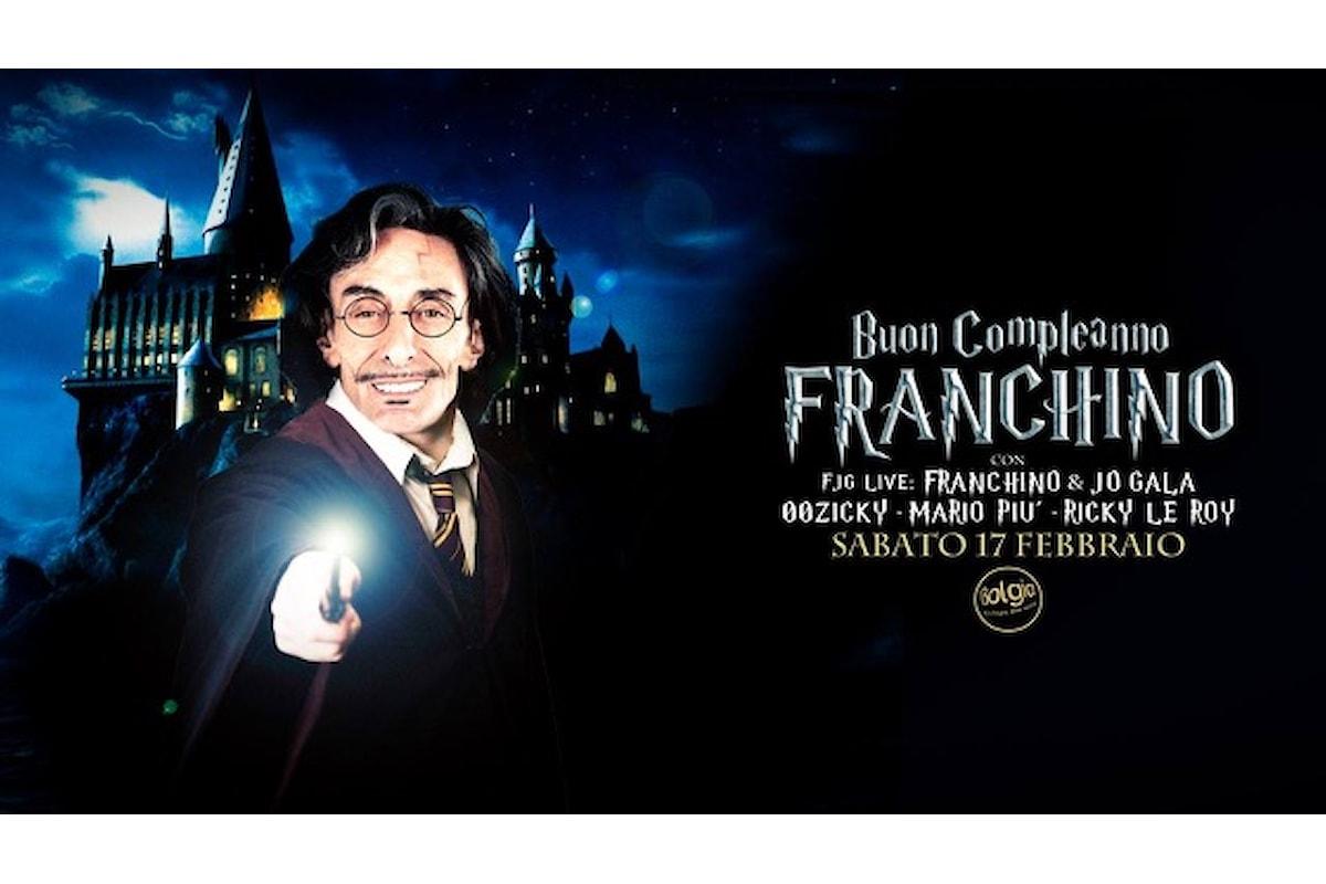 17 febbraio, Franchino celebra ancora una volta il suo compleanno al Bolgia di Bergamo