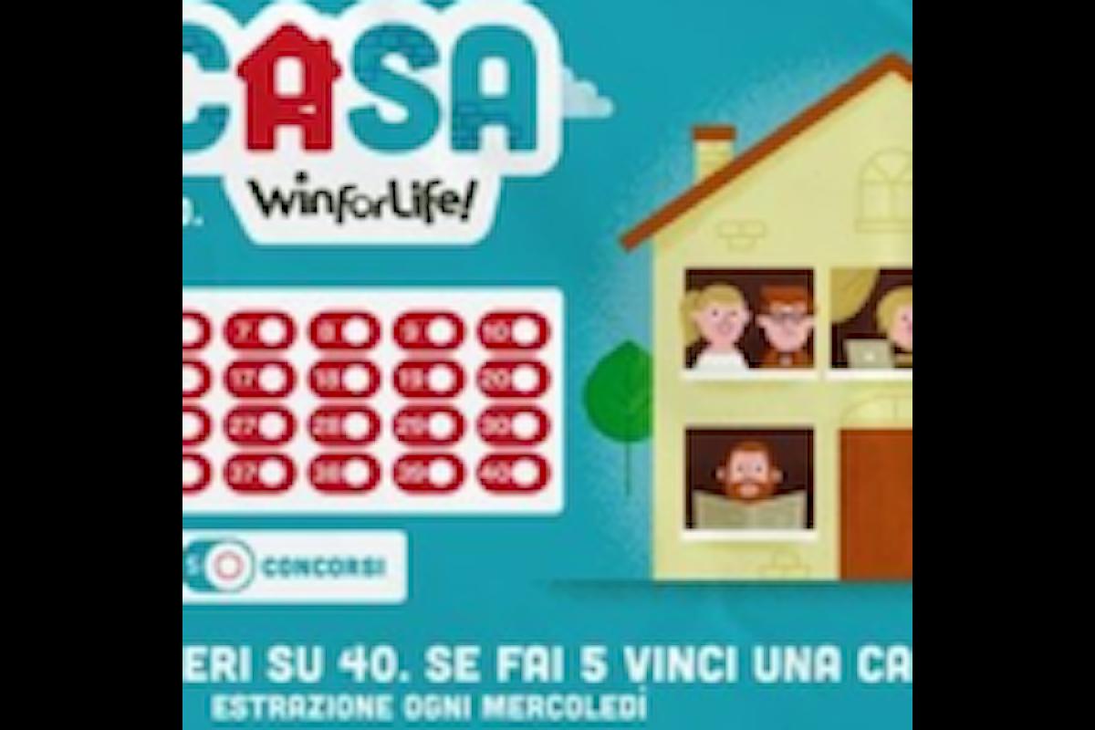 La bella vincita di Bergamo al Win For Life - VinciCasa di qualche settimana fa
