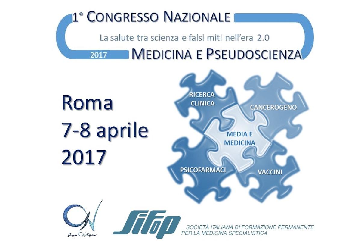 """Vaccini: Antonio Clavenna, dell'Istituto """"Mario Negri"""", al congresso """"Medicina e pseudoscienza"""" del Gruppo C1V"""