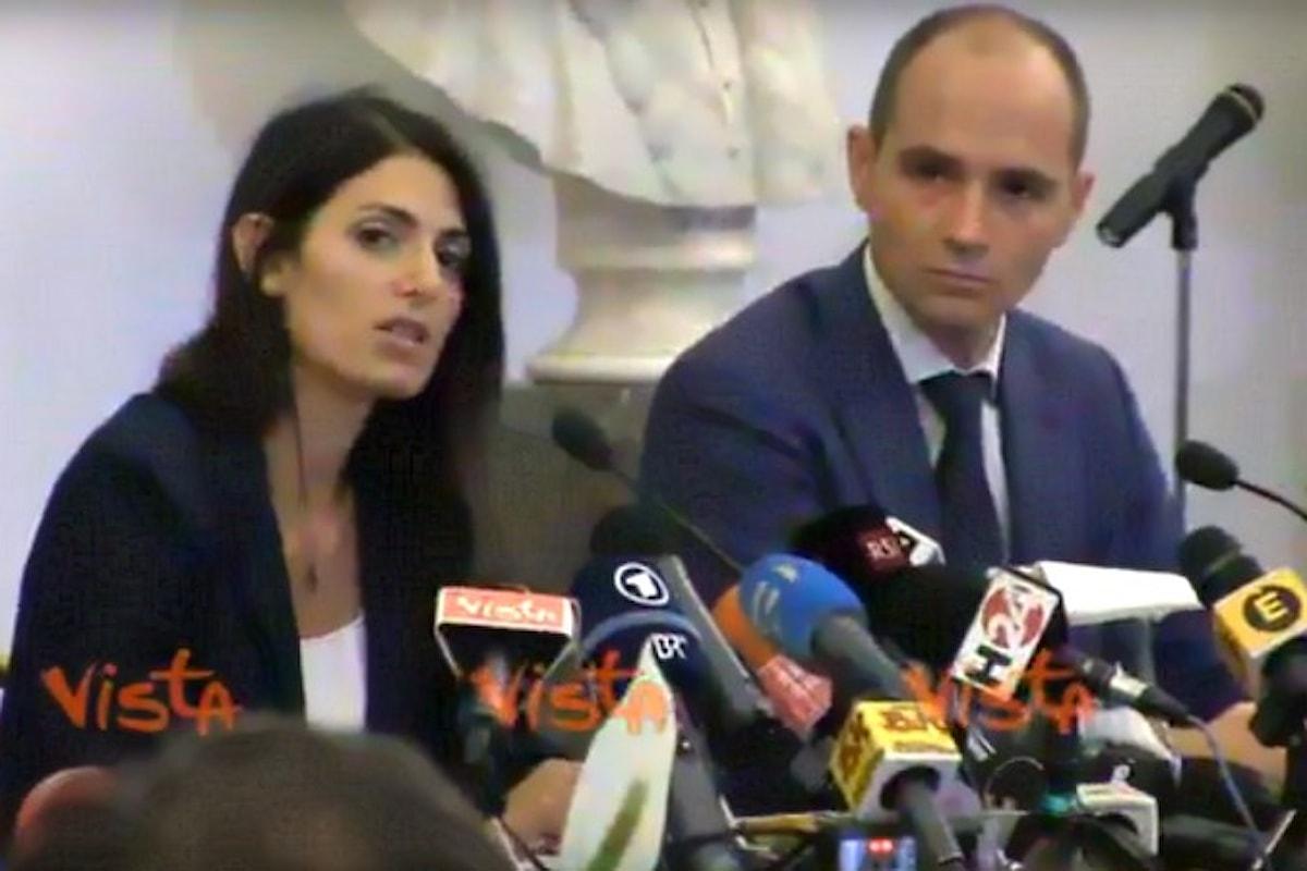 Il sindaco Virginia Raggi conferma il no alle Olimpiadi a Roma