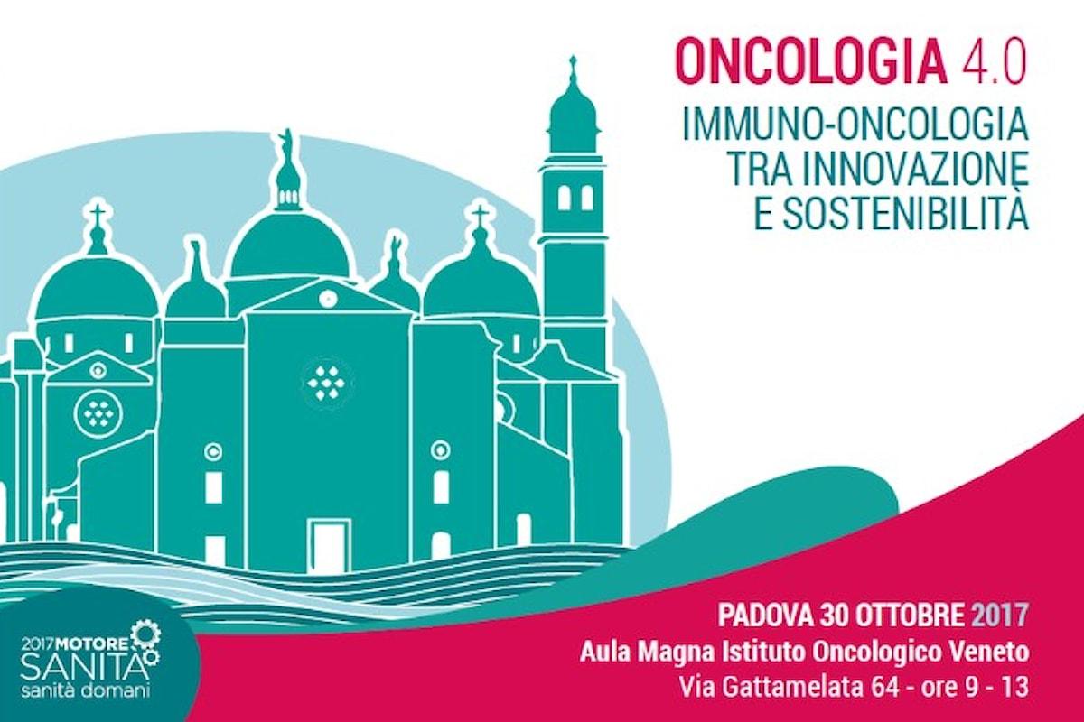 A Padova, il 30 ottobre si discute di innovazione farmaceutica sulle nuove terapie in campo oncologico