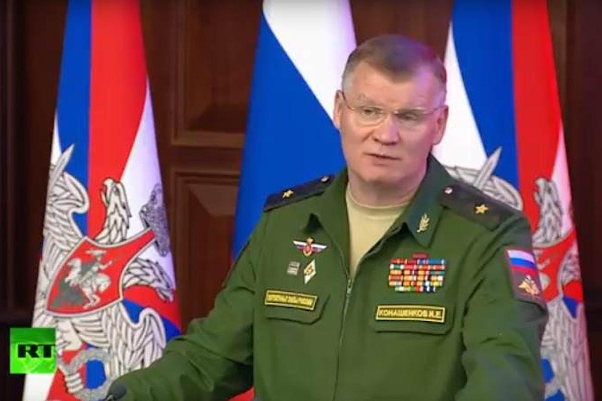 La Russia cambia opinione sull'abbattimento dell'Ilyushin a Laodicea