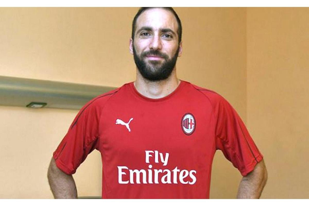 Higuain felice per il trasferimento al Milan. Questo il motivo