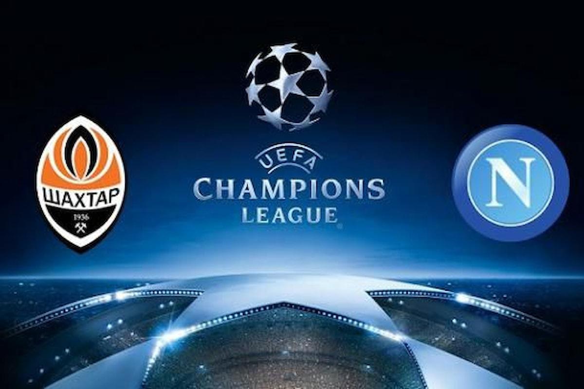 Probabili formazioni Shakhtar-Napoli Champions League: i dubbi di Sarri
