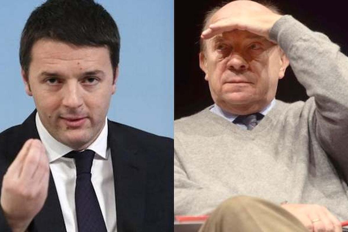 Matteo Renzi e Gustavo Zagrebelsky si sono confrontati a La7 sulla riforma costituzionale