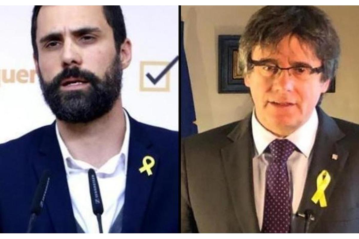 Gli indipendentisti vincono il primo round in Catalogna. Roger Torrent di ERC è il nuovo presidente del Parlamento