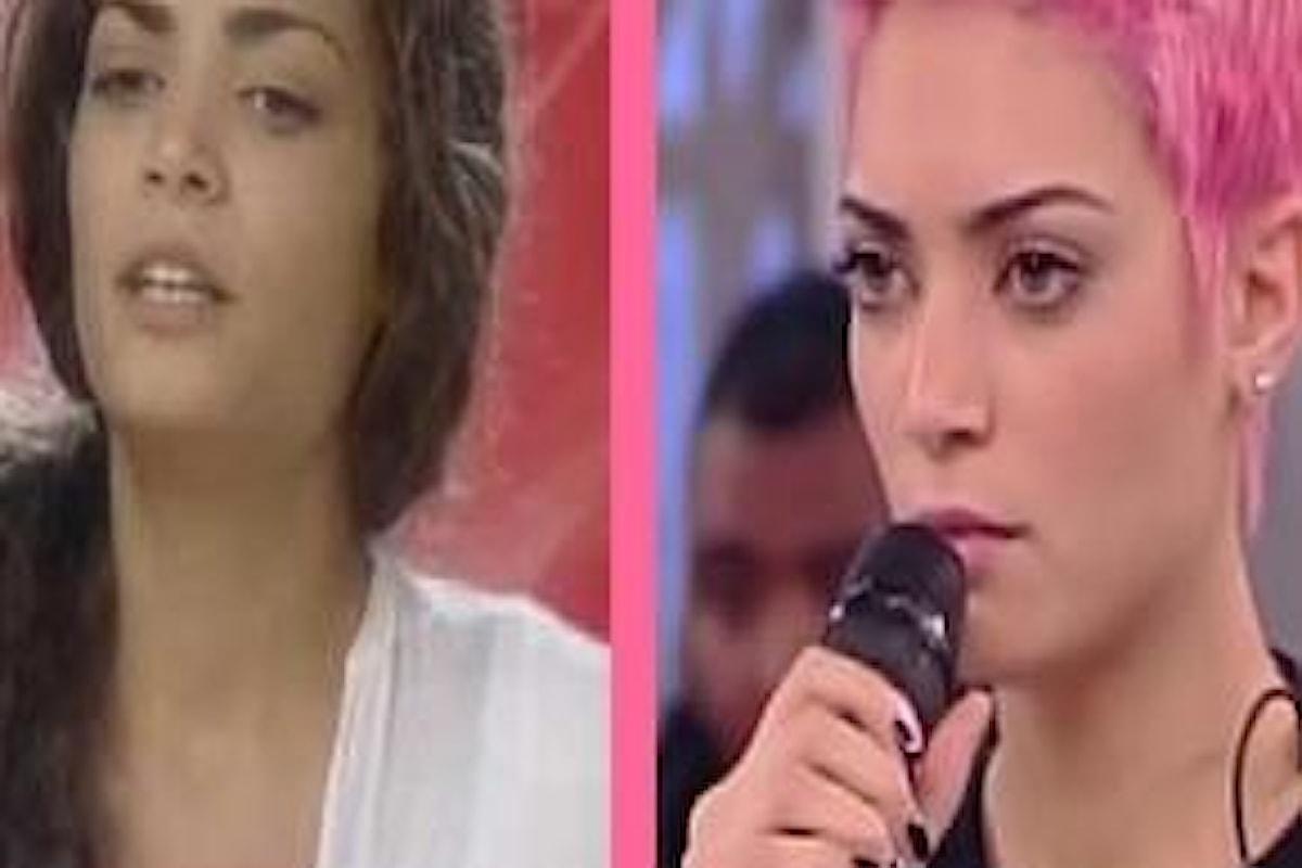 La metamorfosi di Elodie da X Factor ad Amici Di Maria De Filippi
