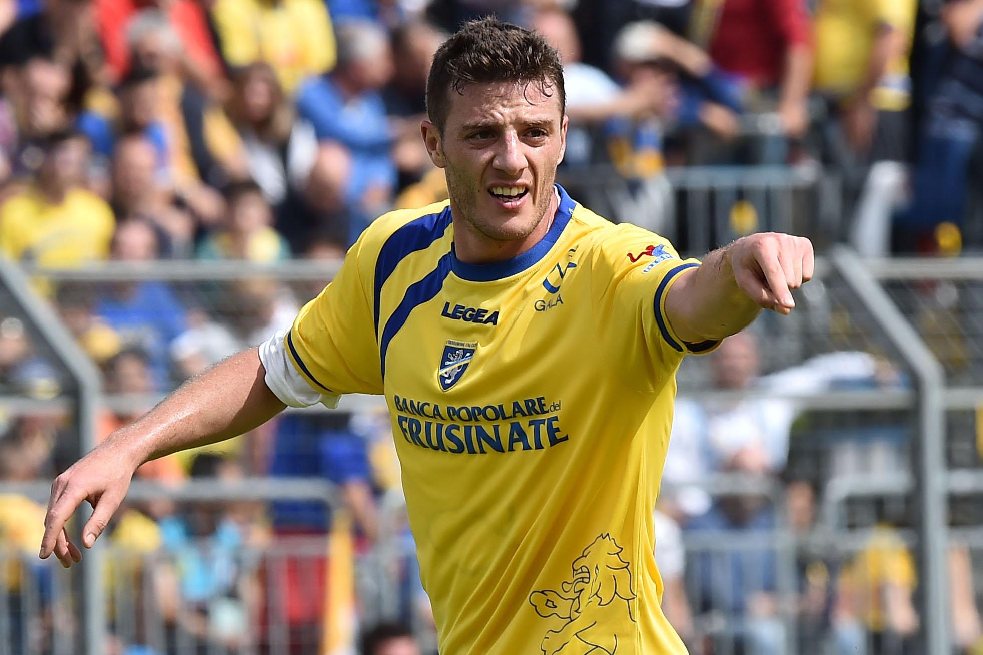 Daniel Ciofani carica il Frosinone