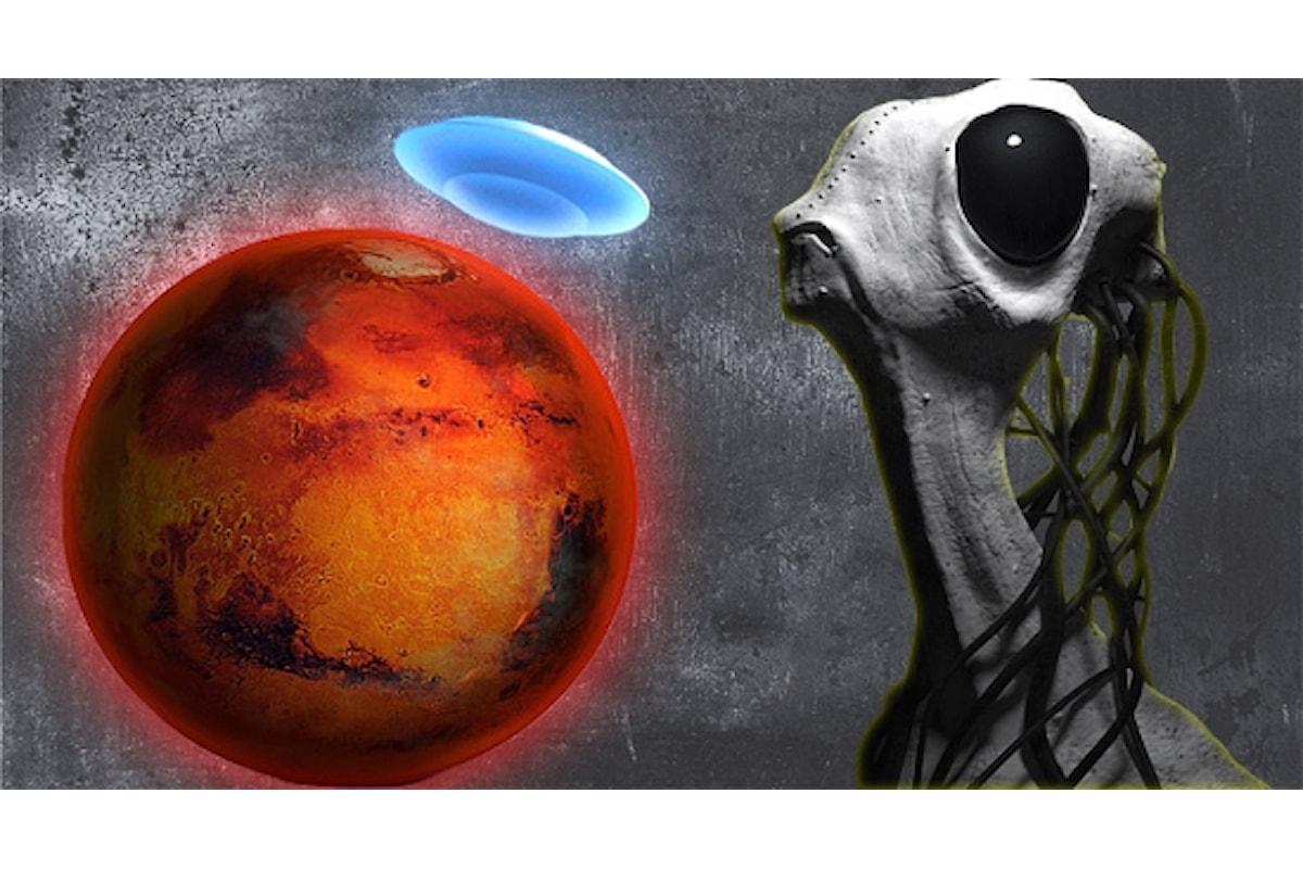Vita intelligente su Marte la prima prova