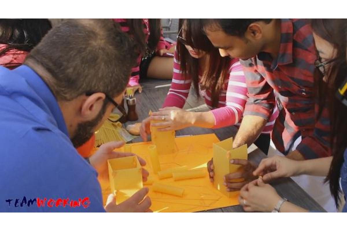 Le costruzioni: gioco da bambini o momento di team building?