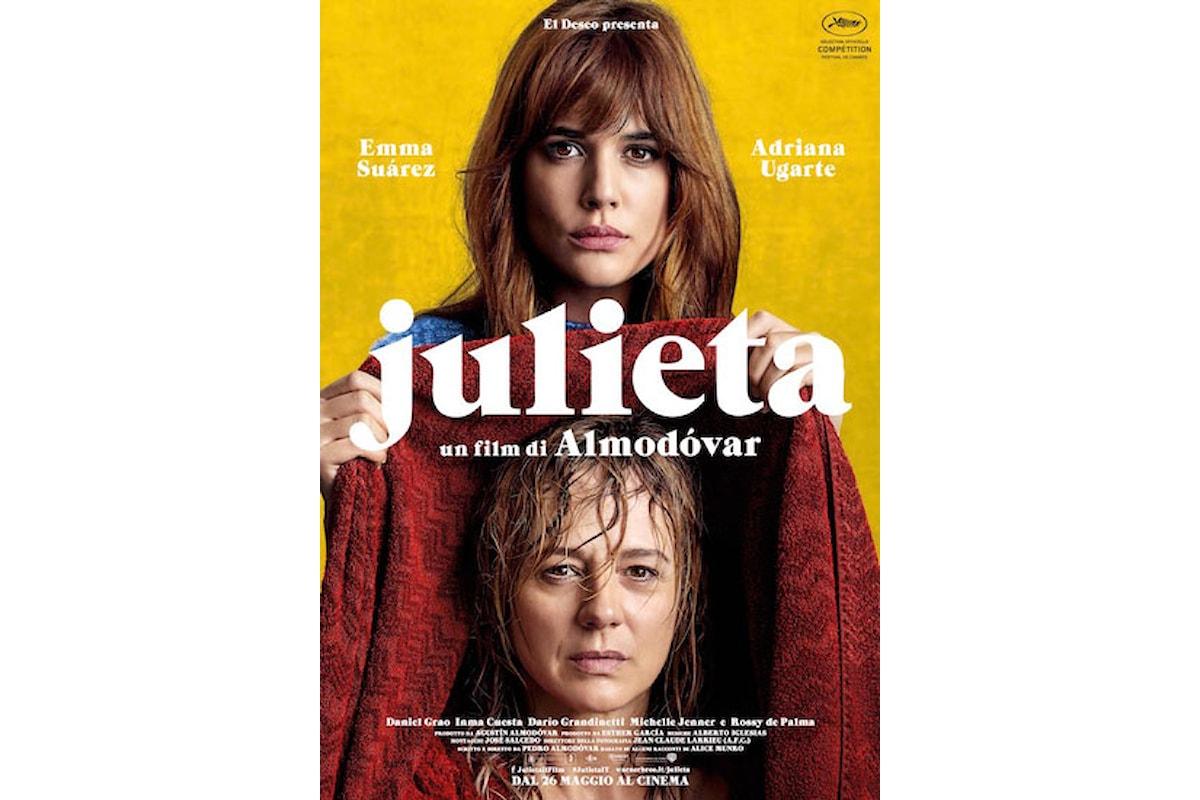 Recensione di Julieta il nuovo film di Pedro Almodovar