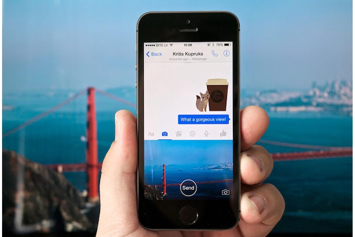 Facebook | in arrivo nuova app fotocamera