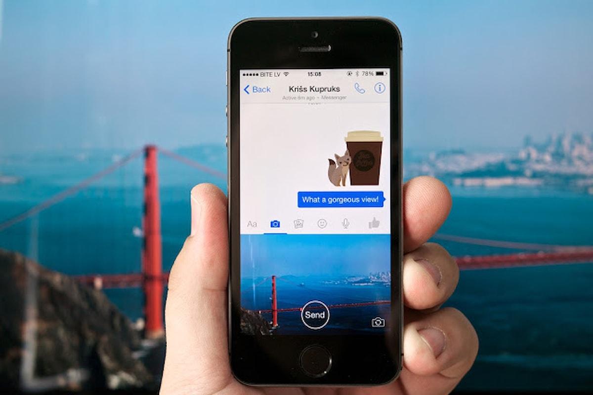 Facebook   in arrivo nuova app fotocamera