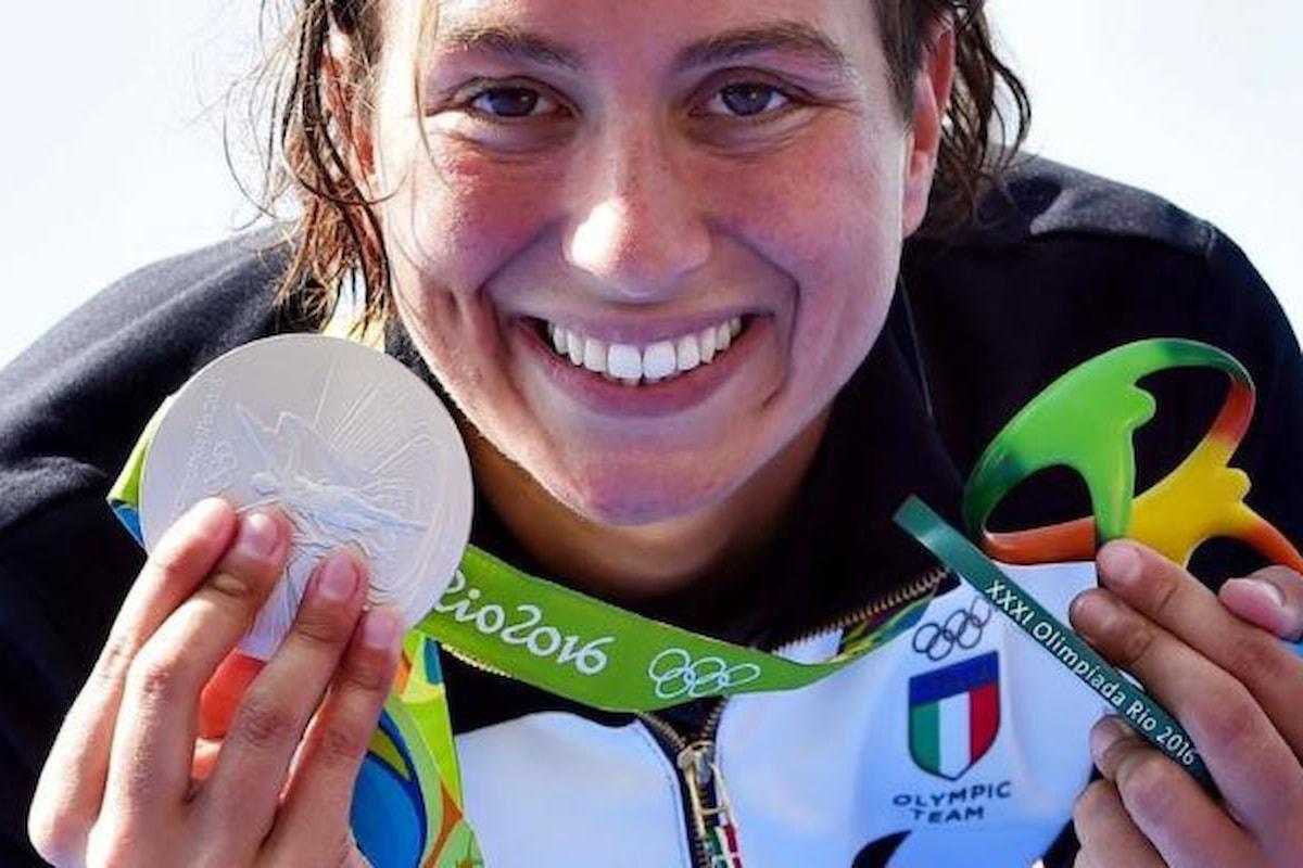 La normalità della nuotatrice Rachele Bruni che dedica la medaglia d'argento alla compagna Diletta