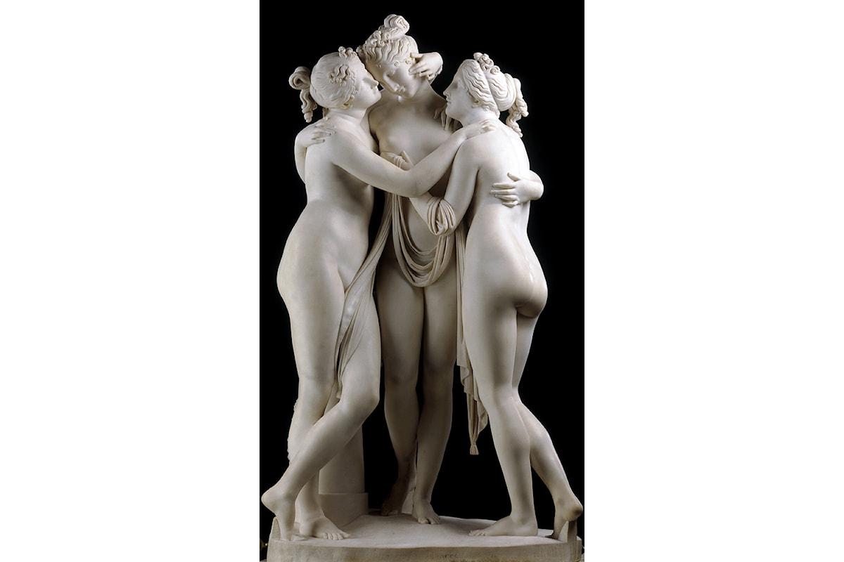 La storia de Le Tre Grazie di Antonio Canova