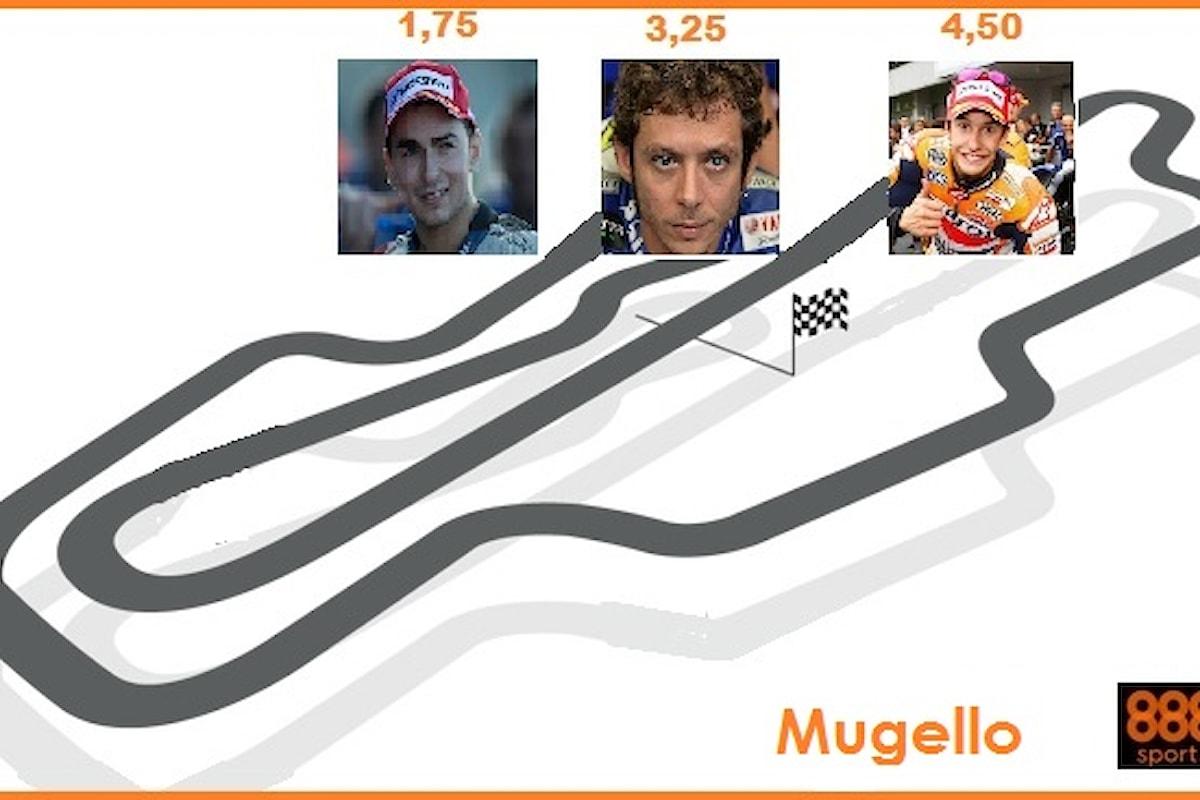 MotoGp, Rossi ci prova al Mugello: vittoria a 3,25