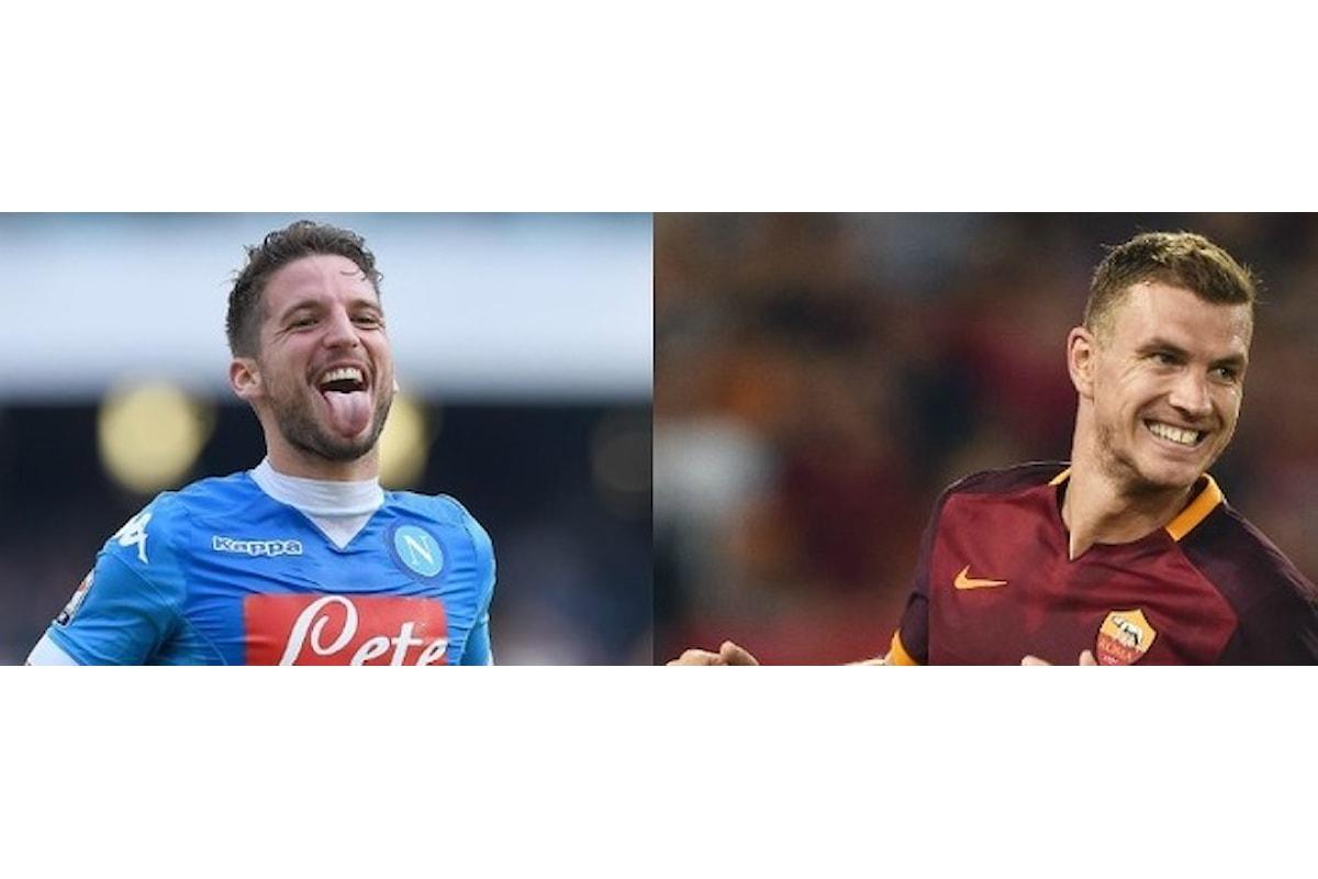 Dzeko e Mertens, i due cannonieri diversi di Serie A