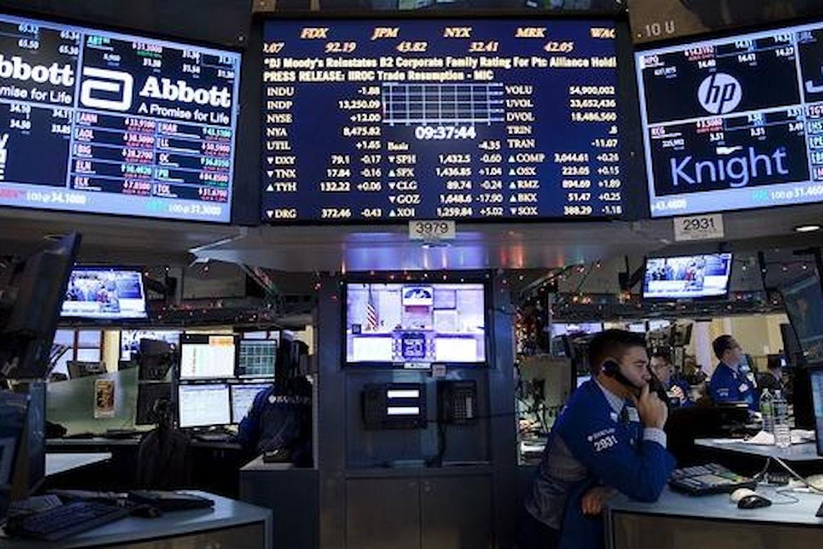 28 gennaio: il FTSE MIB ancora in profondo rosso fino al -4%