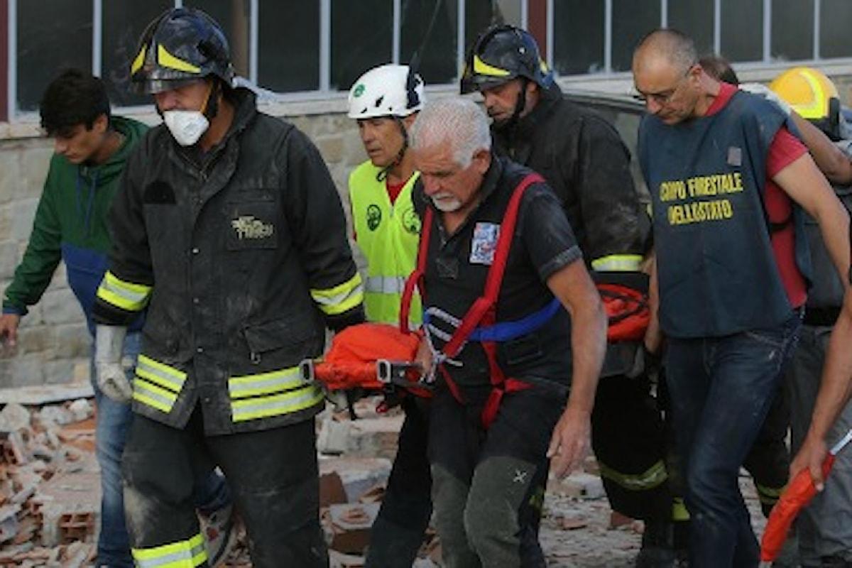 Terremoto: attivato il 45500, numero solidale per raccogliere offerte