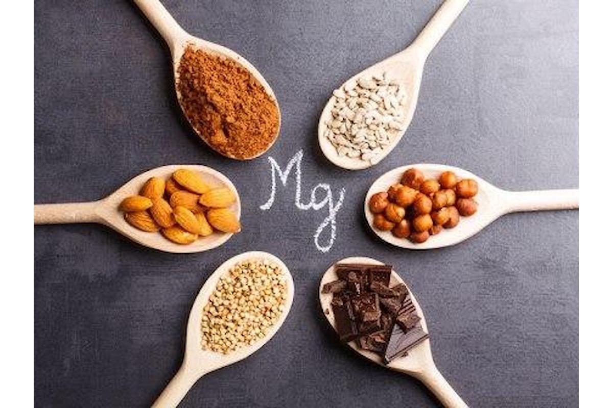 L'importanza del Magnesio, in quali alimenti si trova ed i pericoli della carenza di Magnesio per la salute.