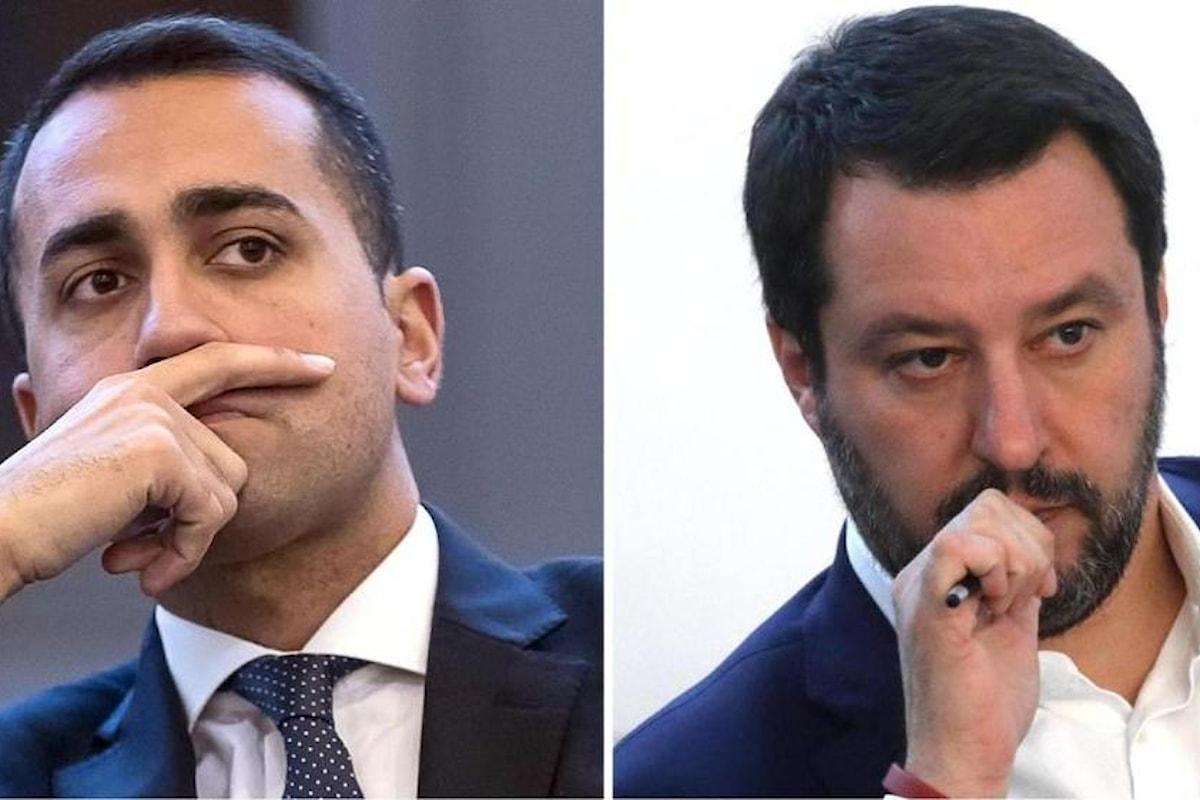 GOVERNO del CAMBIAMENTO Di Maio - Salvini