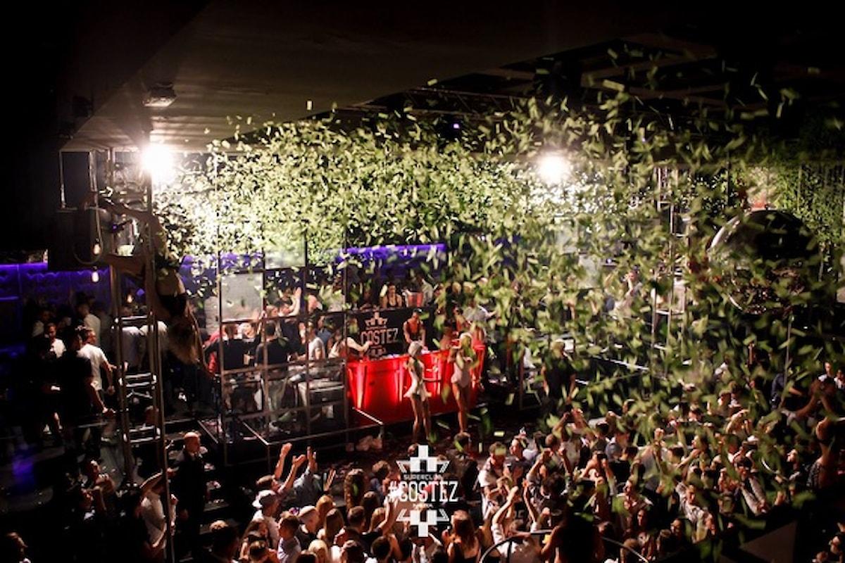 #Costez: 28/4 Final Destination @ Hotel Costez Cazzago San Martino (BS); 29/4 Happy Ending @ Nikita Telgate (BG); 30/4 Super Sunday @ Hotel Costez Cazzago