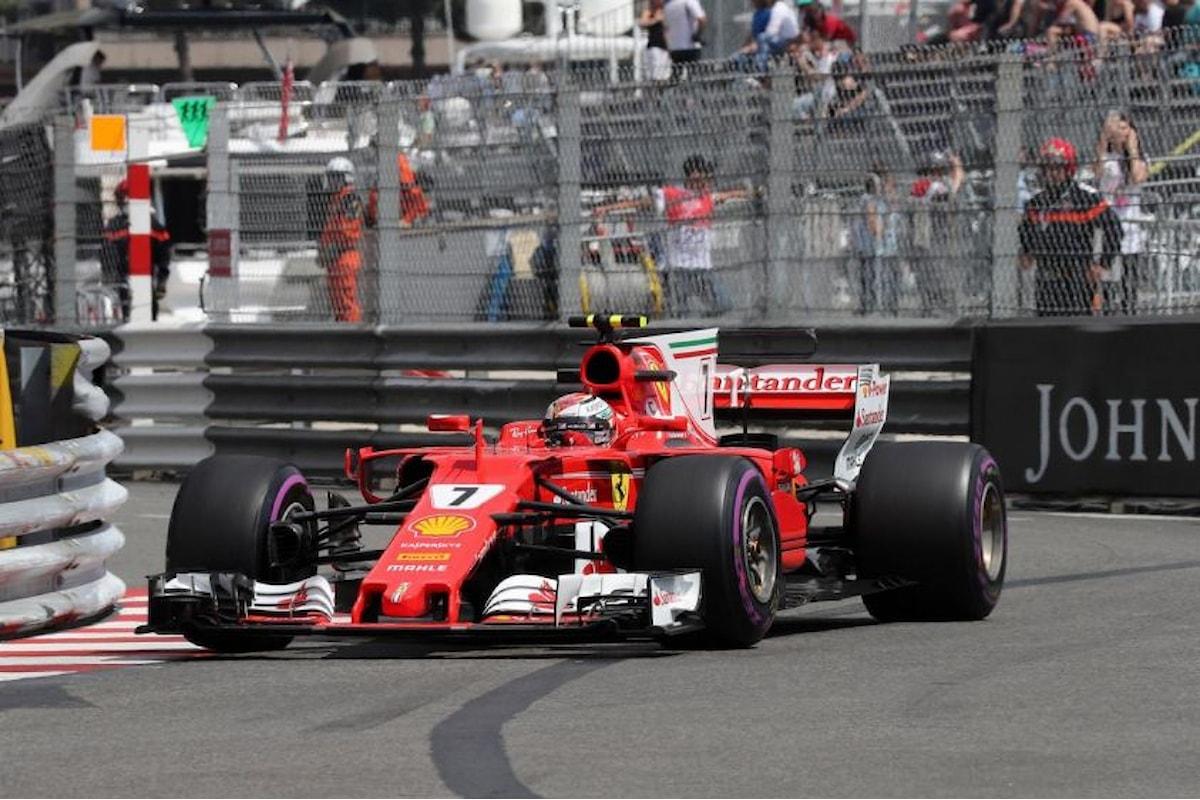 F1 GP Monaco: il video onboard del giro che ha permesso a Raikkonen di andare in pole