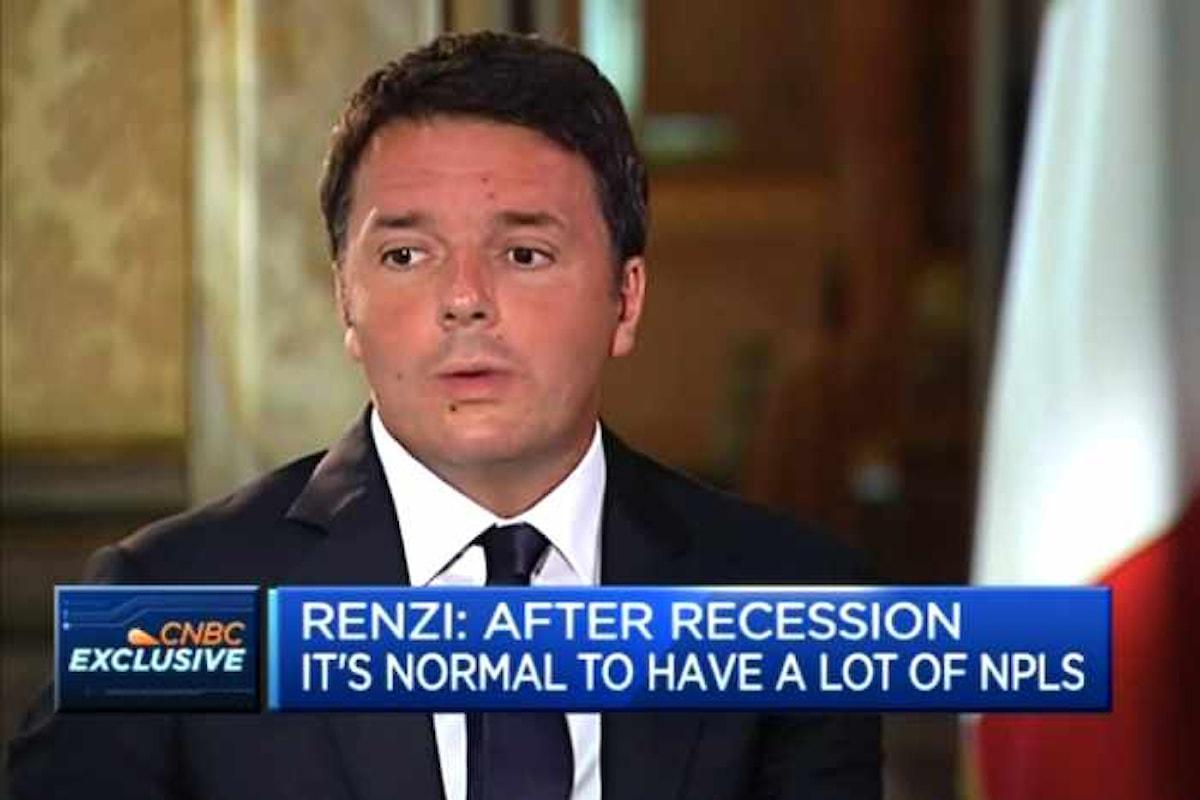 Ma quanto è imbarazzante Renzi? Il presidente del Consiglio intervistato da CNBC