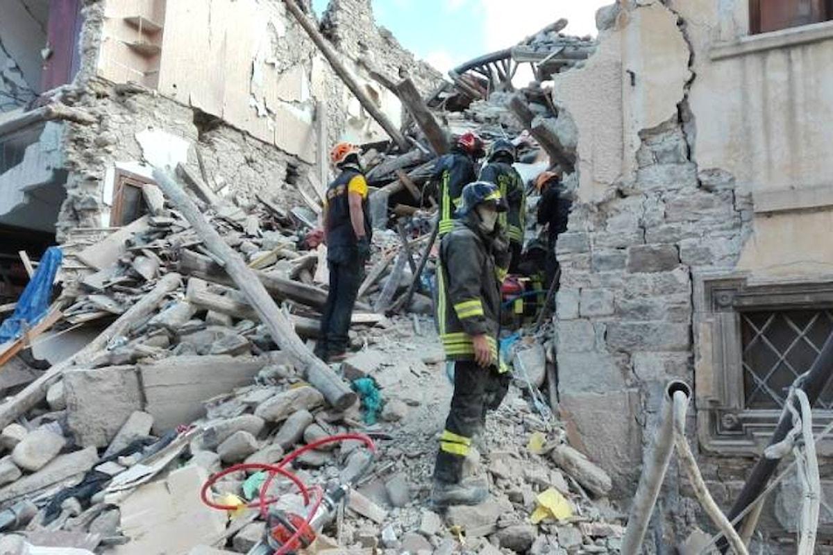 Alcune immagini del terremoto che ha colpito il reatino