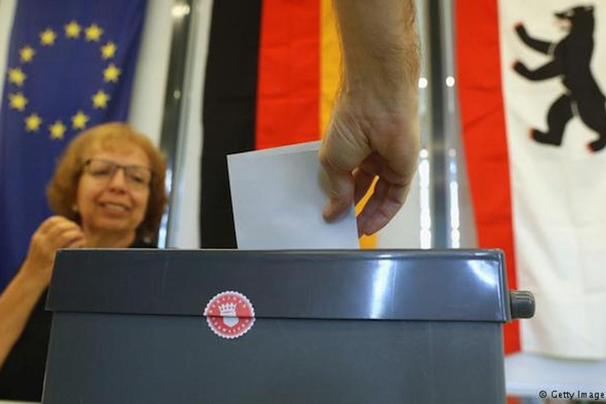 Elezioni a Berlino: nuova sconfitta per la Merkel. Probabile coalizione di sinistra, con i verdi
